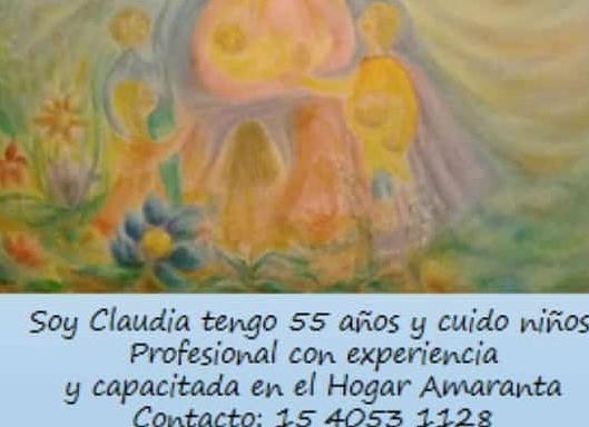 Cuidado de niños – Claudia Gutierrez