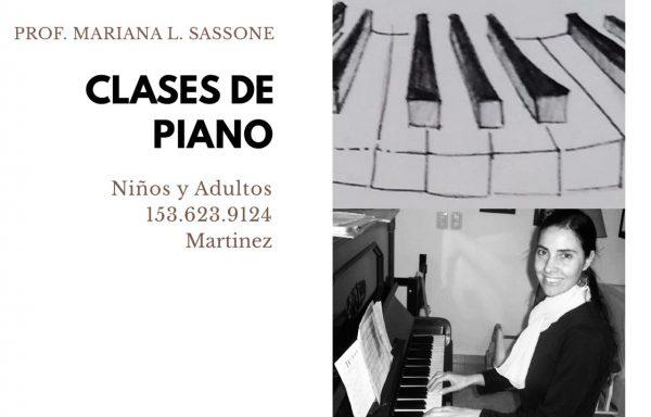 Profesora de Piano adultos, adolescentes y niños