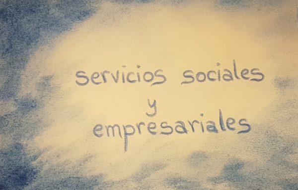 Servicios sociales y empresariales